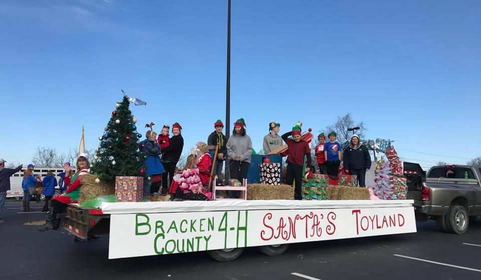 Bracken 4-H Parade Float - 1st Place Winner!