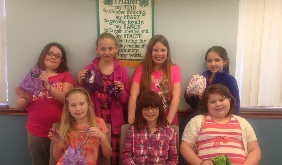 4-H Sewing Project