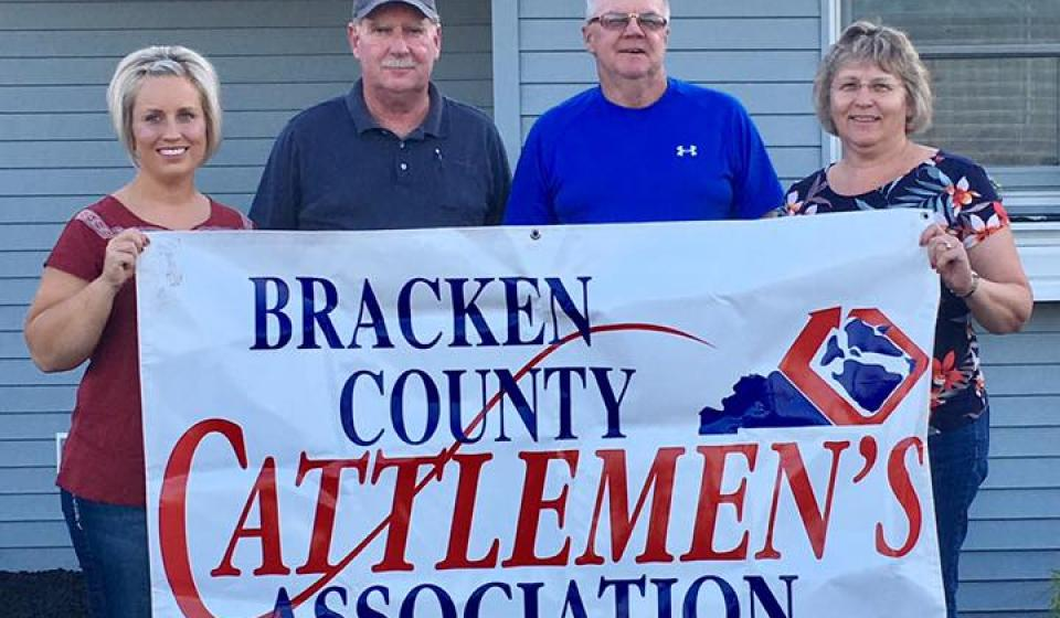 Bracken County Cattlemen's Association Officers